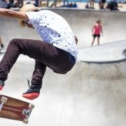 Skateboard nike brand activation