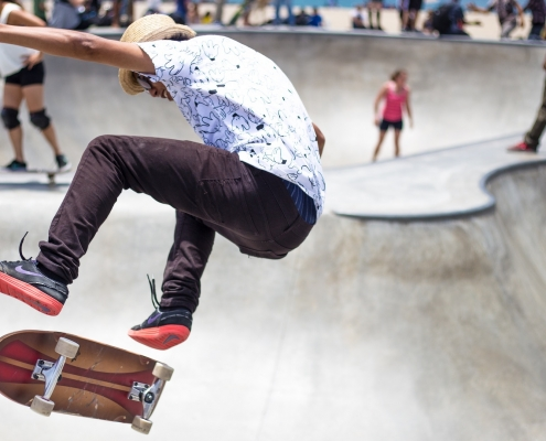 Skateboard nike brand activation