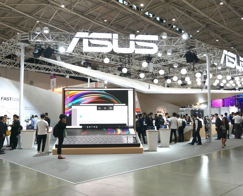 Asus measures product engagement at a trade show
